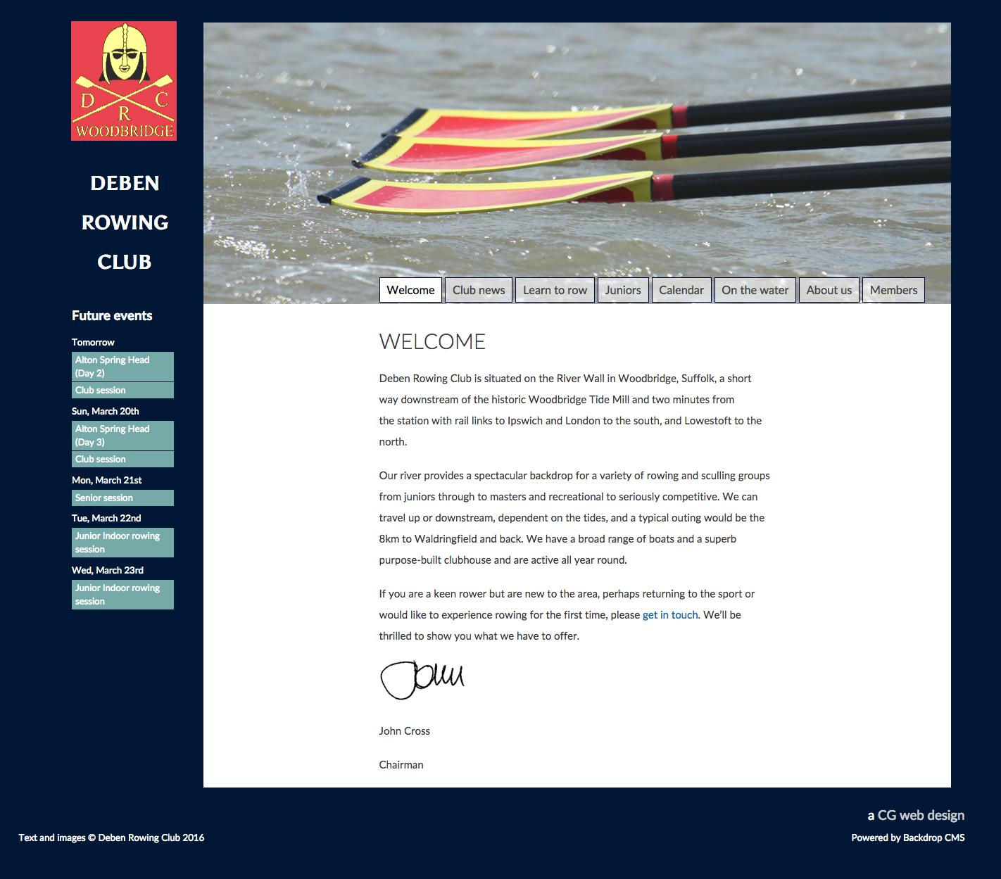 Deben Rowing Club