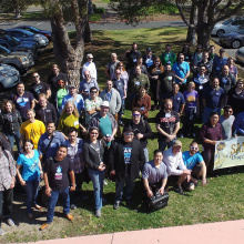 San Diego Drupal Camp group photo